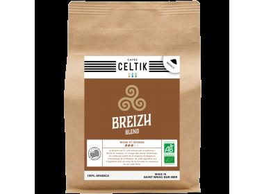 Breizh Blend mélange café biologique moulu