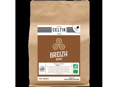 Breizh Blend mélange café biologique