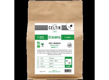 Ethiopie Gamoji café en grain biologique