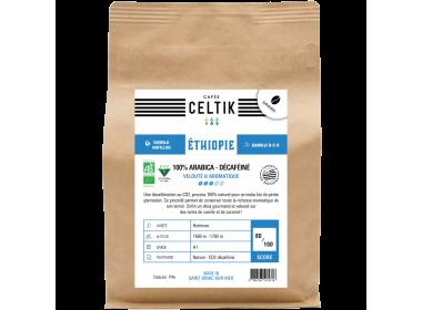 Ethiopie Gamoji décaféiné biologique en grain