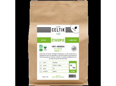 Ethiopie Guji Dambi Uddo café biologique en grain