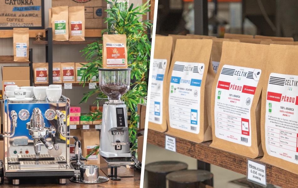 bienvenue dans notre boutique cafés en grain bio et machines à café